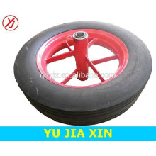 roda de borracha sólida forte, rodas pesadas