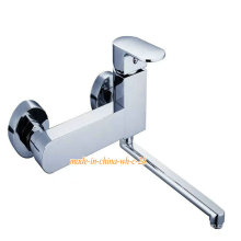Wall Mounted Single Handle Kitchen Faucet
