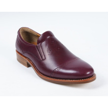 Flat Genuine Leather Mens Business Shoes (NX 421)
