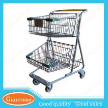 despliegue de nueva generación 2 cestas carrito de compras express