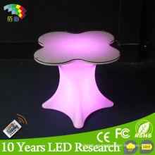 Ilumine Colourfurl LED Table Banquet Furniture para Eventos