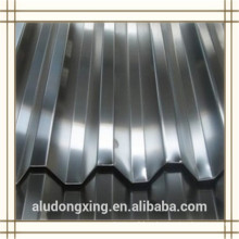 1050 H24 hoja de aluminio corrugado para el techo y muro cortina