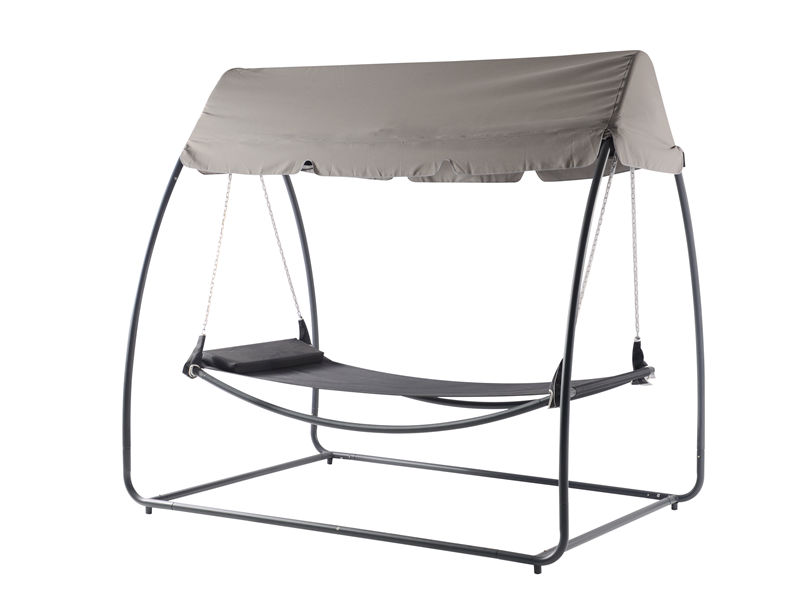 Garden Leisure sleeping camping hammock bed with canopy