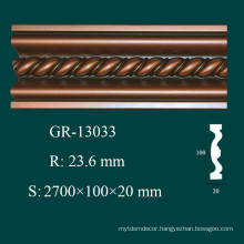 Facotry Price Home Interior Decorator Hand Carved PU Mouldings
