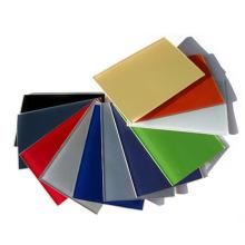 Panneau en verre tempéré couleur personnalisé