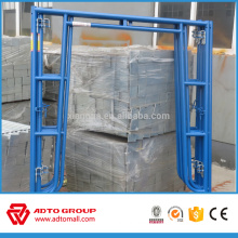 Made in China high quality pre galvanized steel Walk-thru frame