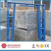 Made in China high quality pre galvanized steel Walk-thru frame
