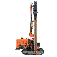 Rubber Mounting Solar Pile Driver