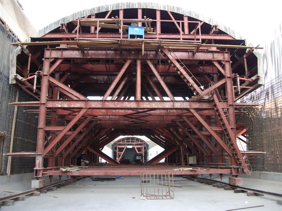 Roof Tunnel Trolley formwork system