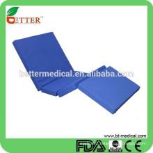 used PU waterproof fabric hospital bed mattress