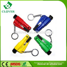 Portable colorful plastic material multifunctional survival police whistle