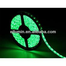 buen precio verde 4.8 w / m 5 m dc12v 3528 luz de tira llevada flexible