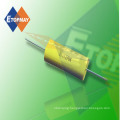 High Voltage Metallized Polypropylene Film Capacitor Axial Type Topmay