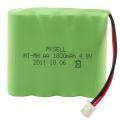 Batería recargable de Ni-Mh AA de alta calidad 4.8V 1800mAh