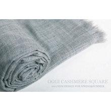 Супер тонкий окрашенный мерсеризованный шаль шерстяной шаль