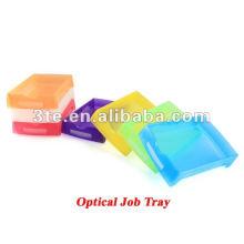 Plateau de travail optique en plastique