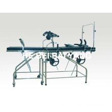 (A-173) Stainless Steel Multi-Function Delivery Bed