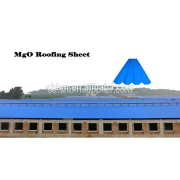 High Strength Insulating Magnesium Oxid Roof Tile
