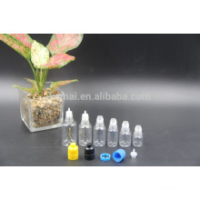 5мл/10мл/20мл/25 мл/30 мл ПЭТ прозрачные бутылки масла с завинчивающейся крышкой давления