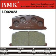 Adanced Quality Brake Pad (D2023)