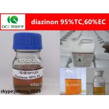 Insecticida organofosfato diazinon 95% tc, 60% ec, 50% ec - lq