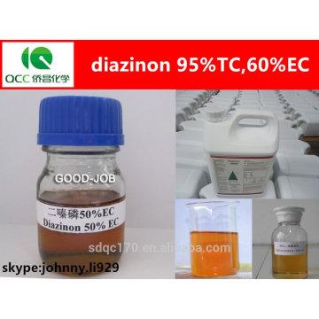Diazinon 60% EC Insektizid, Diazinon 95% tc, Cas: 2921-88-2-lq