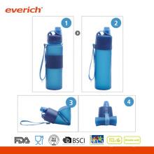 Leicht zu reinigen und zu speichern, Freezable Wandern Camping Sporting Flasche
