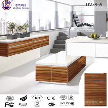 Muebles modulares de gabinete de cocina UV