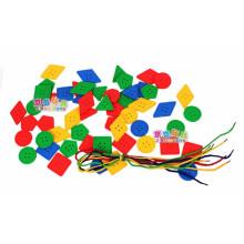 2014 artículo nuevo Juguete barato del bloque que rosca para el preescolar y el jardín de la infancia