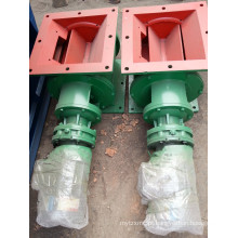 Válvula rotativa do coletor de poeira válvula de descarga giratória inferior do material a granel