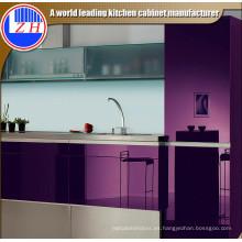 2015 Nueva cocina de la puerta del gabinete del lustre (colorida)