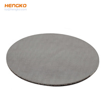 High Strength Compressive Stainless Steel Porous Sintered 316L Filtration Plate Sheet Filter For Fuel Oil Filtration