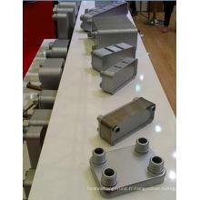 Échangeur de chaleur à plaques brasées eau 304 / 316L