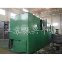 Serie Dw secador de cinta de malla para pellets de carbono