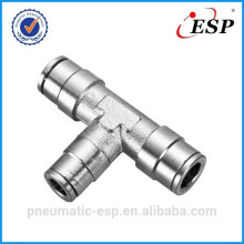 Air Brake Quick Connect Fittings 3 way copper fitting