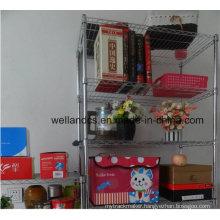 Easy Cleanable Chrome Adjustable Book Display Wire Shelf (CJ9035180A5E)