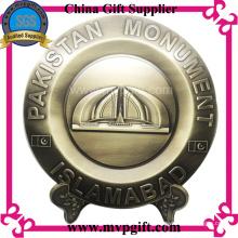 Placa del trofeo del metal de Bespoke para el regalo