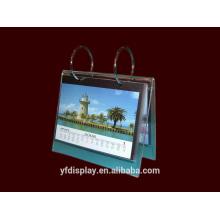 Clear Acrylic Customized Calendar Holder For Home