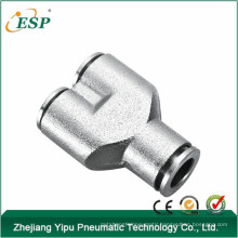 ESP high quality pneumatic metal fitting for tube