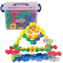 Bloques de juguete de construcción blanda