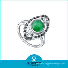 Green Stone Jewelry Rings Wholesaler (SH-R0249)
