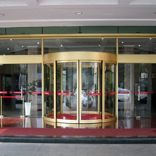 Curved Sliding Doors for Hotels