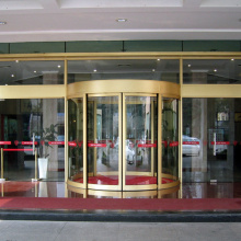 Creative Automatic Curved Sliding Door