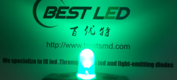 525nm diffused green led