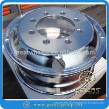 Langlebige Aluminium-Lkw-Felge 22.5X11.75 (Aluminium-Felgen) Forhot-Verkauf