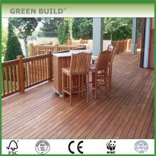 Natural distressed Anti-slip merbau hardwood garden decking