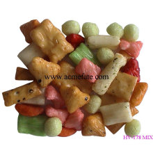 healthy rice cracker for Chirismas Eve