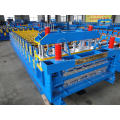 Metal double layer roof sheet roll forming machines