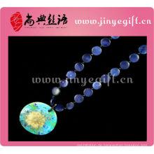 Chinesische traditionelle Modeschmuck handgemachte Shell Anhänger große Mode Halsketten