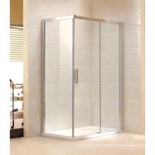 Cabina de ducha de cristal simple del precio al por mayor / cabina de la ducha (F11)